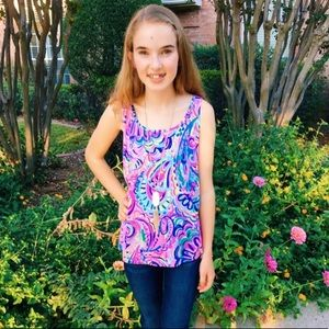 Lilly Pulitzer Psychedelic Sunshine Tank Top